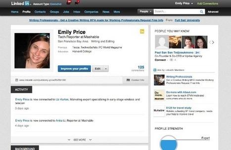 Linkedin rinnova la sua struttura e le pagine personali - Networkey | Linkedin Marketing All News | Scoop.it