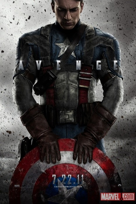 Captain America: The First Avenger Movie   All Geeks   Scoop.it
