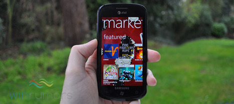 Windows Phone Marketplace passes 45,000 apps as Apple announces 500,000 for iOS   Microsoft   Scoop.it