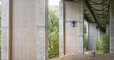 Un drone dédié à la réparation de certains bâtiments en un temps record | Construction l'Information | Scoop.it