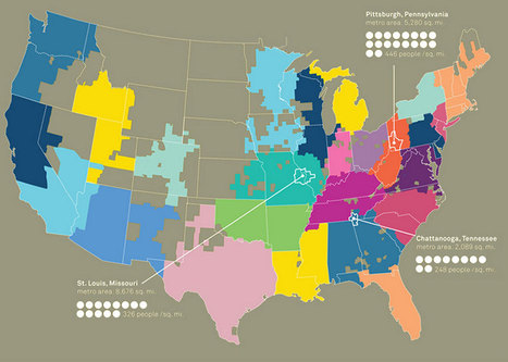 A 'Whom Do You Hang With?' Map Of America : NPR   GIS Resource   Scoop.it