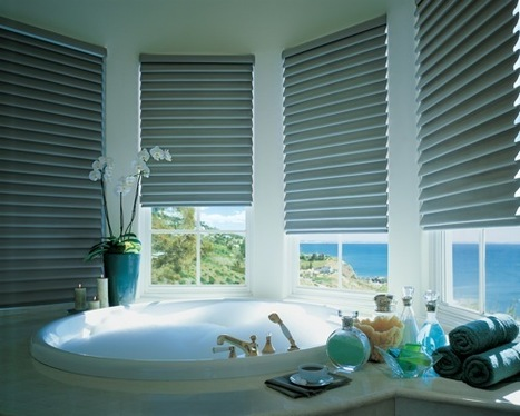 Out of the Dark: 10 Updated Classic Roman Shades | Designing Interiors | Scoop.it