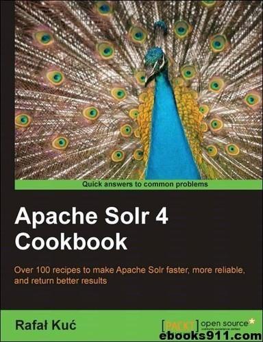 Apache solr 4 cookbook pdf download.