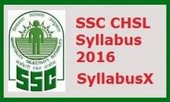 Ssc Exam Syllabus 2016 Pdf