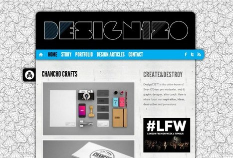 Showcase of Outstanding Blog Designs | timms brand design | Scoop.it