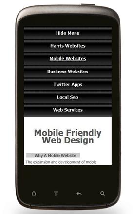 Mobile Friendly Web Design. HarrisWebsites.co.uk West Yorkshire | Web Design favourite articles | Scoop.it