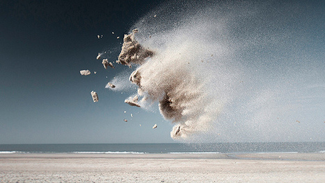 What animals do you see in these flying clumps of sand? | Sustain Our Earth | Scoop.it