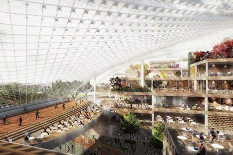 Apple, Google, Facebook: ces gigantesques projets immobiliers de ... - Blog Le Monde (Blog) | Habillage Urbain | Scoop.it