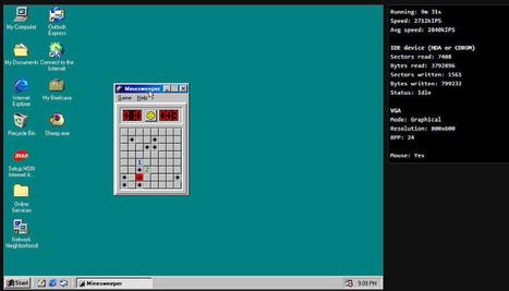 El emulador web de sistemas operativos | Educacion, ecologia y TIC | Scoop.it