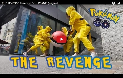 Pokemon GO, The Revenge | Seo, Social Media Marketing | Scoop.it