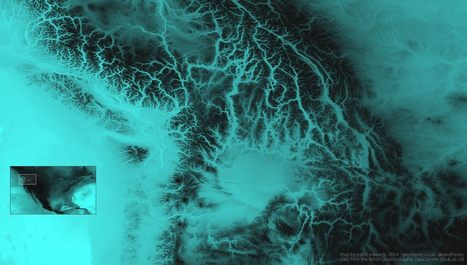 Stunning Maps of World Topography | visual data | Scoop.it
