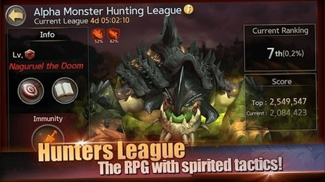 Hunters League - Real-time active auto control