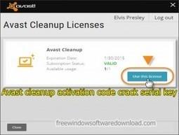 avast cleanup activation code keygen