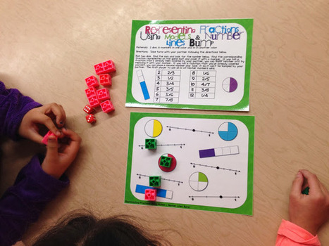iTeach 1:1: Resources and FREEBIES for Introducing Fractions and ... | Online Games for K-12 Learning | Scoop.it