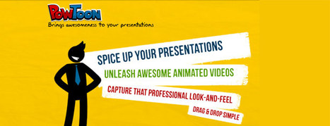 Put WOW In Your Next Presentation with PowToon! | Digital Presentations in Education | Scoop.it