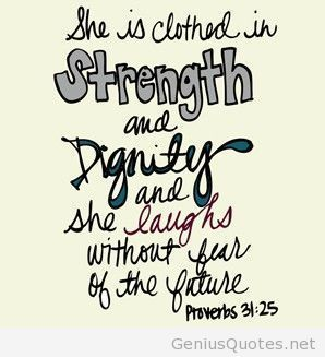 She is clothed in strength and dignity... | Coffee Party Feminists | Scoop.it
