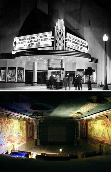 8 Aesthetically Awesome Abandoned Theaters: From Dusty Drive-Ins to Classic Cinemas | WebUrbanist | Antiques & Vintage Collectibles | Scoop.it