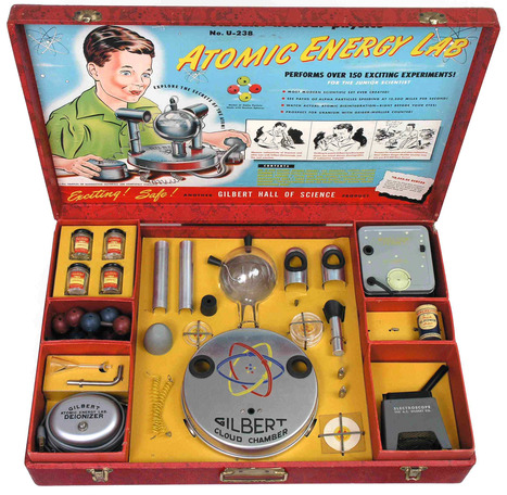 Gilbert U-238 Atomic Energy Lab (1950-1951) | Atomic Energy Research | Scoop.it