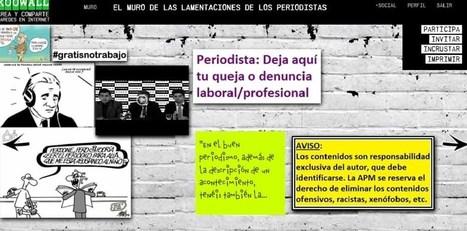 Se abre El Muro de las Lamentaciones de los Periodistas | PERIODISMO INTERACTIVO | Scoop.it