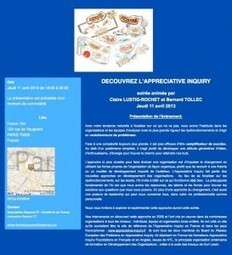 Conférences - Appreciative Inquiry France | Art of Hosting | Scoop.it