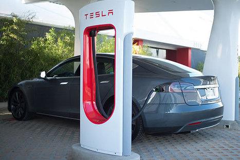 Tesla : les SuperChargers débarquent en France | Remembering tomorrow | Scoop.it