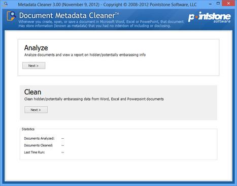 Document Metadata Cleaner   Best Freeware Software   Scoop.it