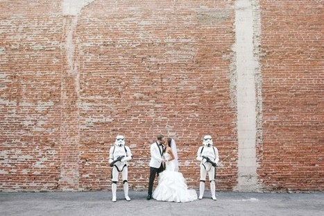 Un mariage Star Wars qui a la classe | L'Empire du côté obscure | Scoop.it
