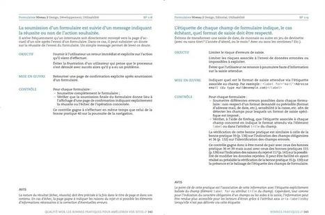 Qualité web - le livre : les bonnes pratiques Opquast pour améliorer vos sites | iBoo Veille Technologique | Scoop.it