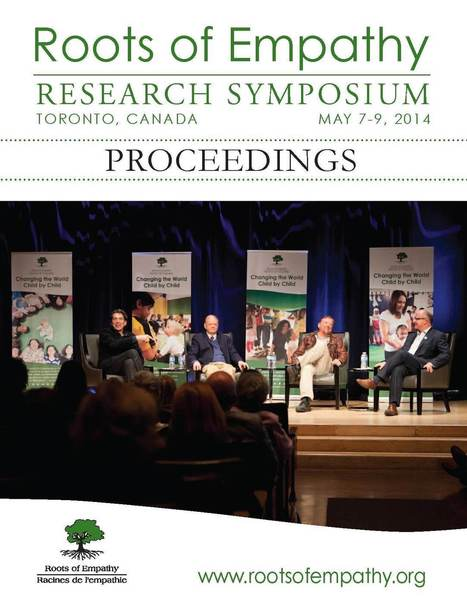 Roots of Empathy - Research Symposia Proceedings - 2012, 2013, 2014   With My Right Brain   Scoop.it