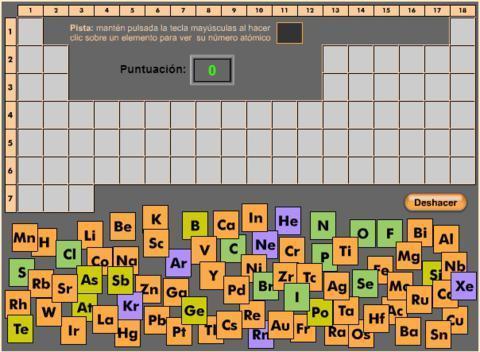 Un juego para aprender la tabla periodica de lo un juego para aprender la tabla periodica de lo urtaz Images