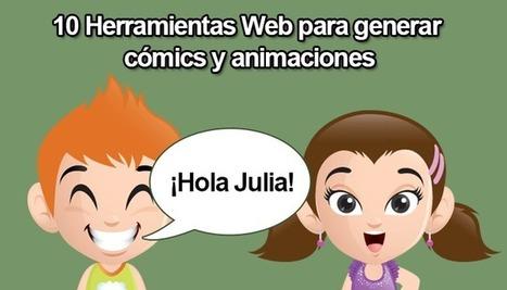 10 Herramientas Web para generar cómics y animaciones - alsalirdelcole   Matemáticas, educación y TIC   Scoop.it
