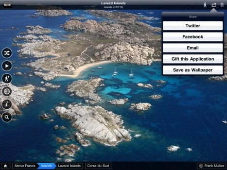 National Geographic Traveler's new app: Above France - TNW Apps   Technology and Gadgets   Scoop.it