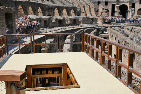 Here's How Ancient Romans Got Wild Animals Onto the Colosseum Floor   Studio Art and Art History   Scoop.it