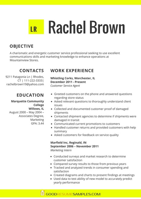 Ats Formatted Resume Example Good Resume Samp