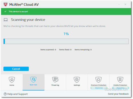 McAfee Cloud AV - une petite solution anti-virus, légère | Geeks | Scoop.it