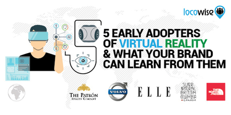 5 Early Adopters Of Virtual Reality And What Your Brand Can Learn From Them - Locowise Blog   Social media for Museums   Scoop.it