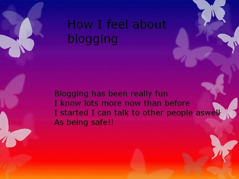 Year 7 write about their blogging experiences | Primary School Teaching | Scoop.it