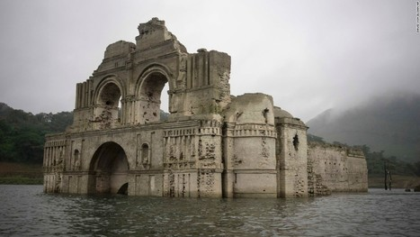Sunken 16th-Century Church emerges from river depths | Abandoned Houses | Scoop.it