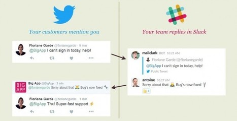 Para responder las menciones de Twitter usando Slack | #SocialMedia, #SEO, #Tecnología & más! | Scoop.it