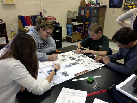 Eighth Graders Build A Model City | | Common Core Implementation | Scoop.it