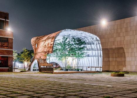 À Séoul, une carcasse de bateau a été transformée en un magnifique monument écolo   Eco-construction et Eco-conception   Scoop.it