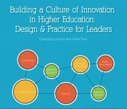 Report: build, sustain innovation culture | Innovation in Digital Higher Ed | Scoop.it