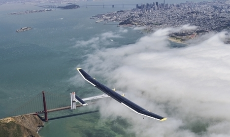 Solar Impulse flies day and night without a drop of fuel | Solar Energy projects & Energy Efficiency | Scoop.it