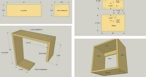 10 Easy DIY Shelves That You Can Actually Build Yourself | Bazaar | Scoop.it