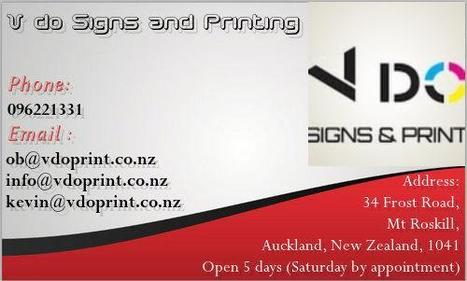Vdo signs and printing v do signs and printin business cards speaks of who you are reheart