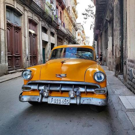 Vintage American Car in Havana, Cuba  #travel #vintage #photo #cuba  | Politically Incorrect | Scoop.it