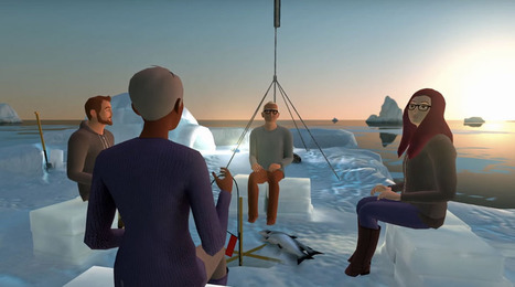 Virtual reality app lets you meet others in imaginary places | Hitchhiker | Scoop.it
