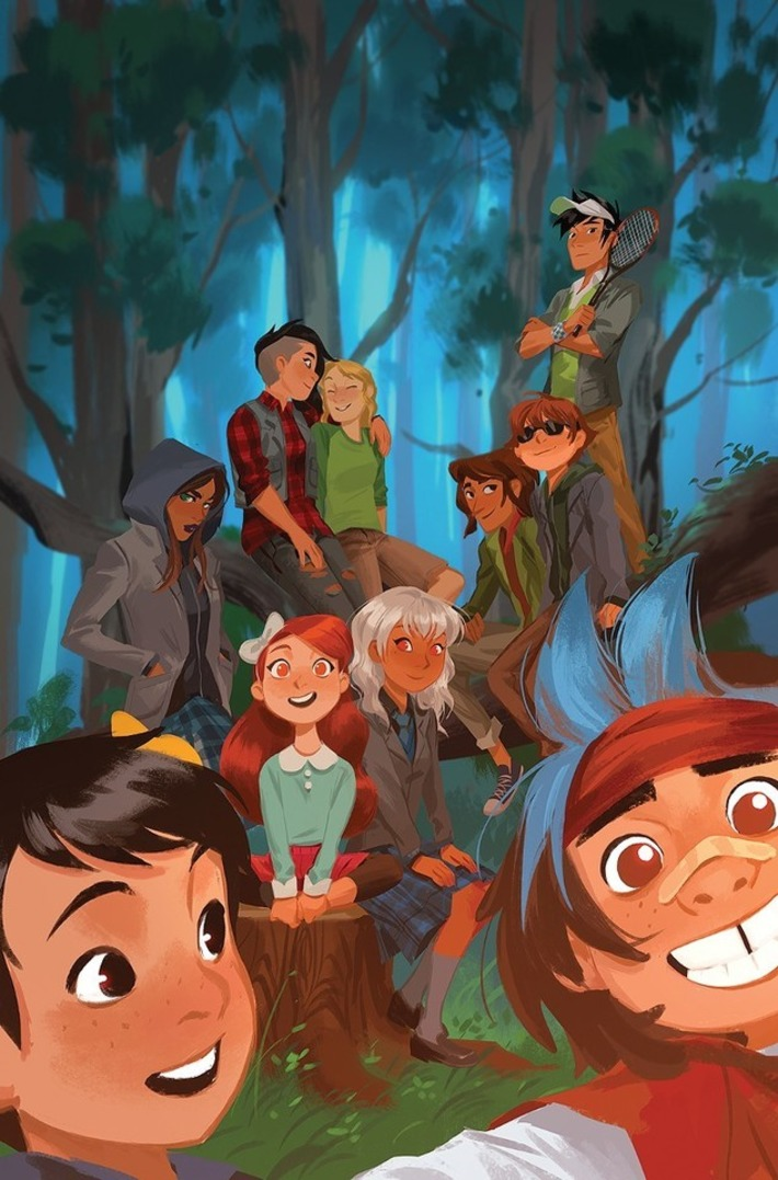 Lumberjanes and Gotham Academy Are Getting the Most Delightful Comic Crossover Ever | Machinimania | Scoop.it