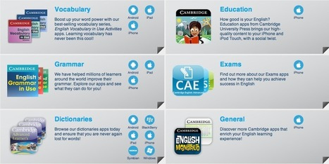 ESL Apps: 15 English Language Learning Apps for iPhone and Android | Technology in the Classroom | Scoop.it