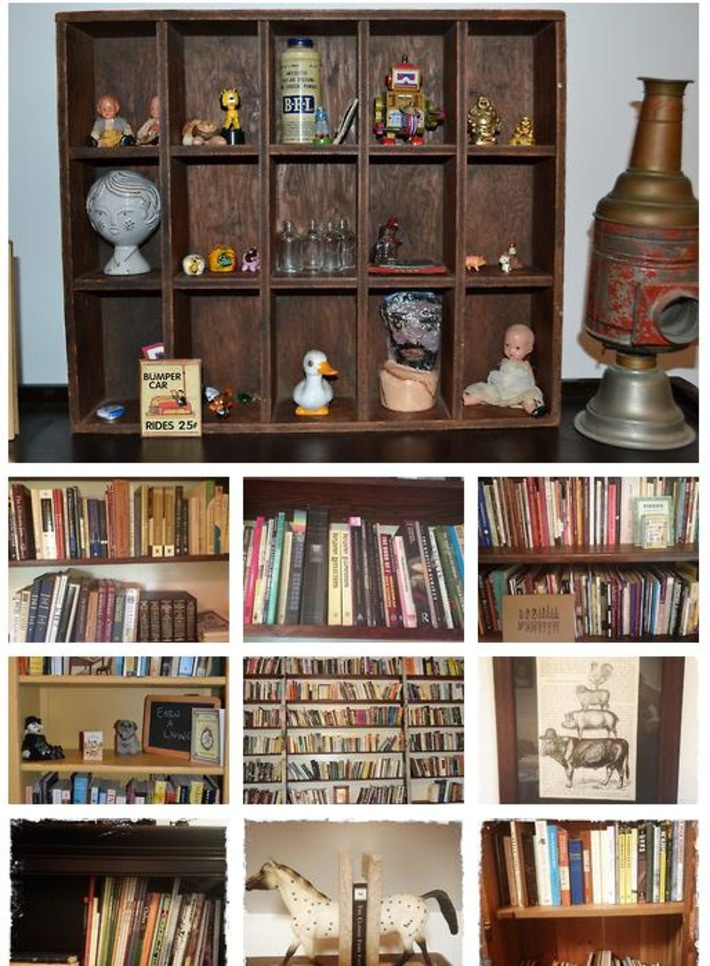 Poets' Bookshelves @believermag | Antiques & Vintage Collectibles | Scoop.it